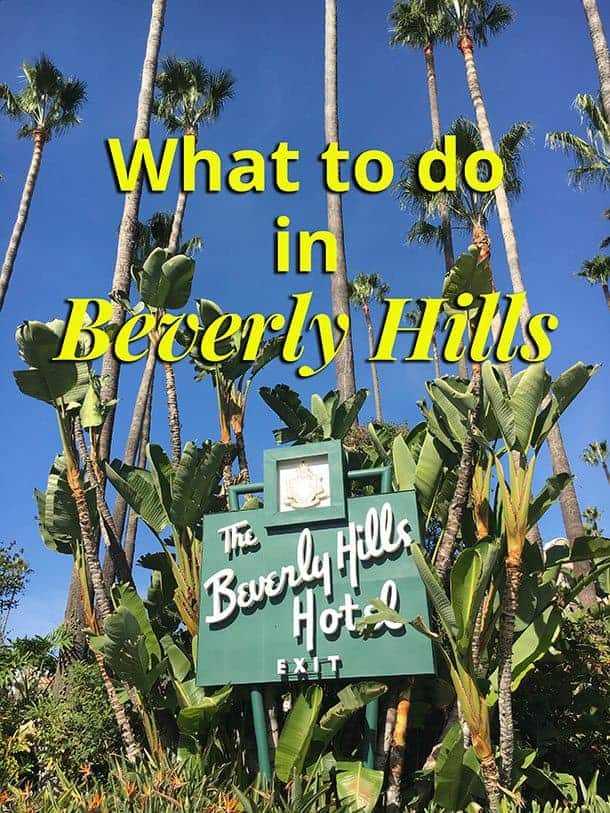 3 days in beverly hills