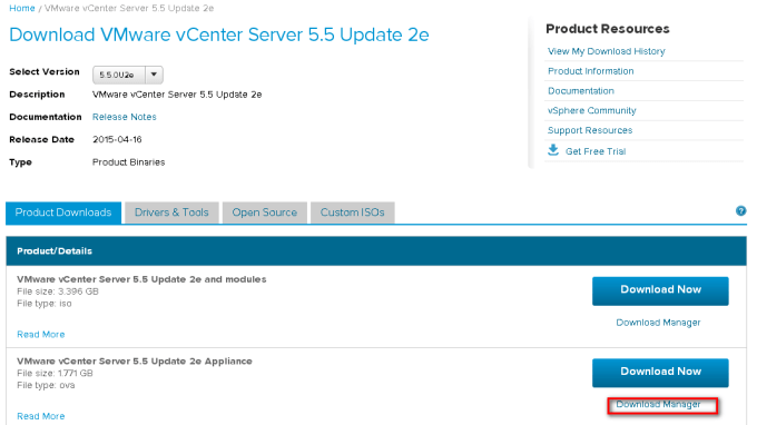 deploy vcenter server appliance 5