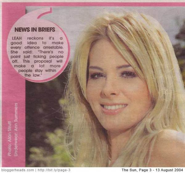 Page 3 and the 'News in Briefs' lie exposed | Bloggerheads