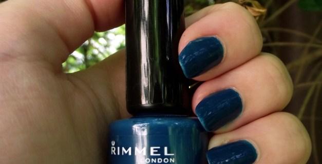 rimmel london nail polish 60 seconds