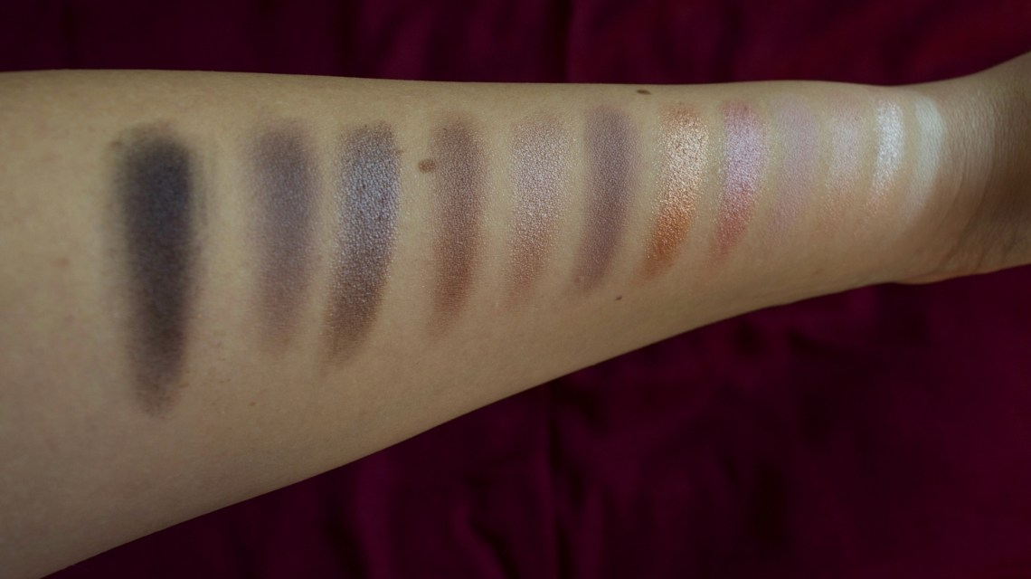 makeup revolution iconic 3 eyeshadow palette review and swatches (6)