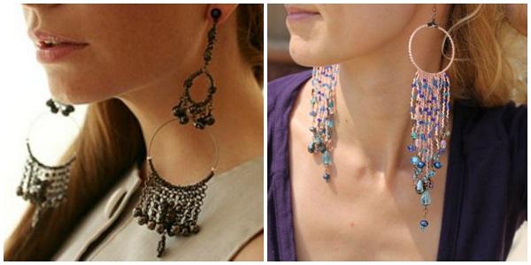 extra long earrings