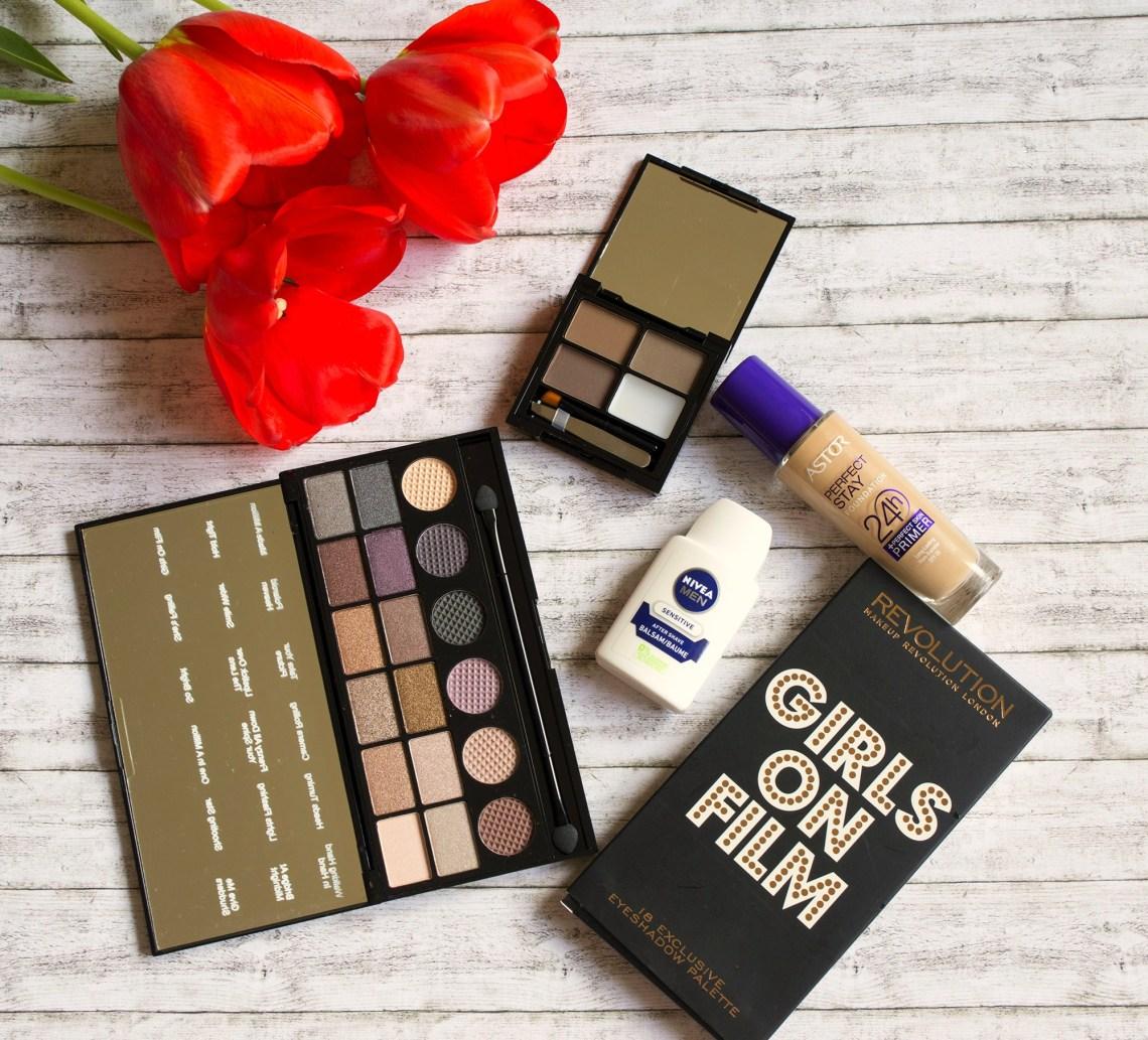 new in my make-up bag - makeup revolution, astor and nivea men (2)