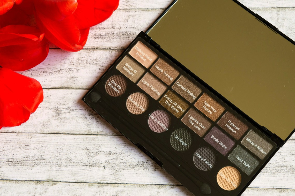 new in my make-up bag - makeup revolution girls on film eyeshadow palette