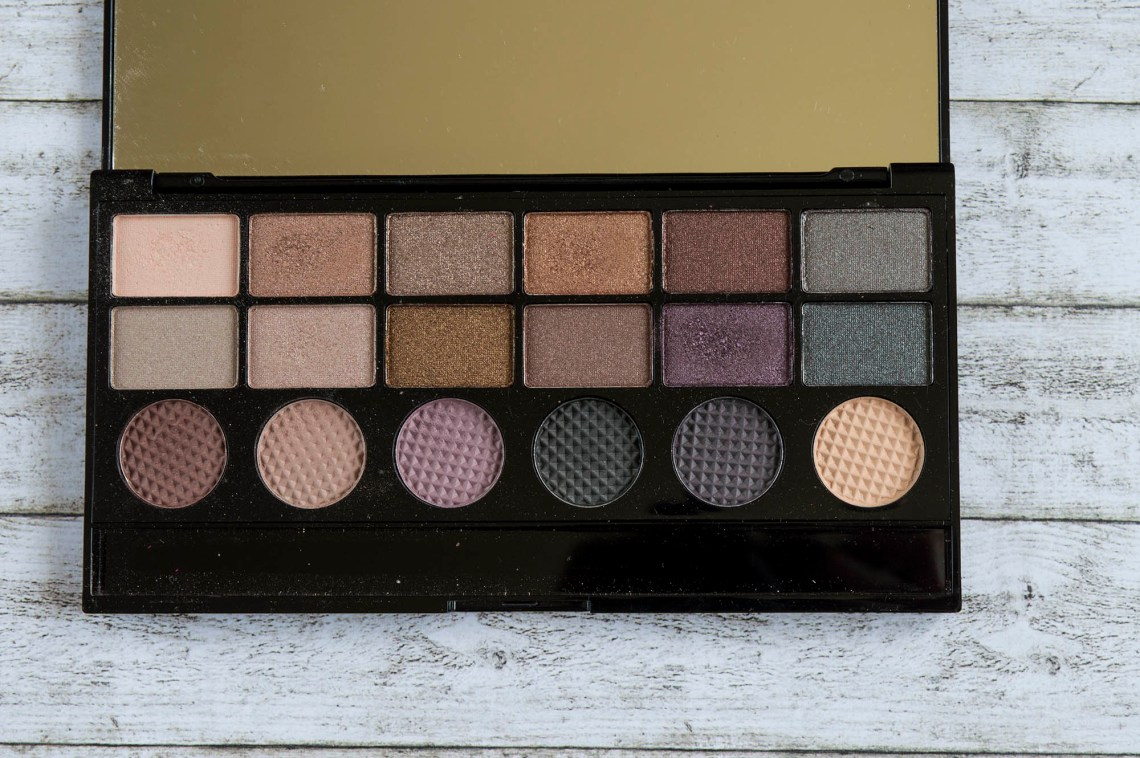 makeup revolution girls on film eyeshadow palette - swatches and review (5)
