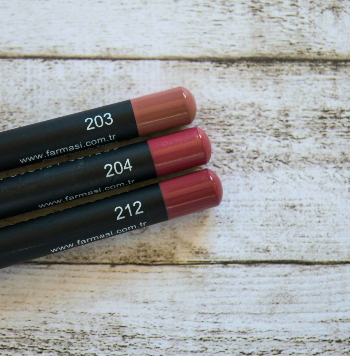 farmasi-lip-pencils-review-203-204-212-3