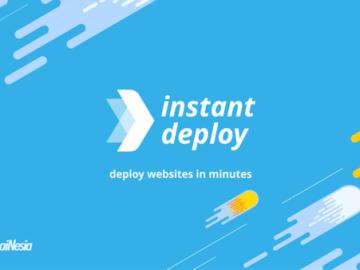 Aplikasi untuk membuat website instan