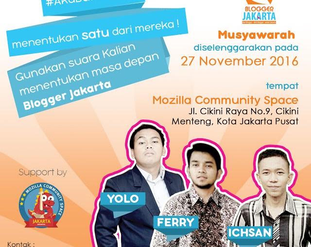 Kriteria Terbaik Untuk Ketua Blogger Jakarta