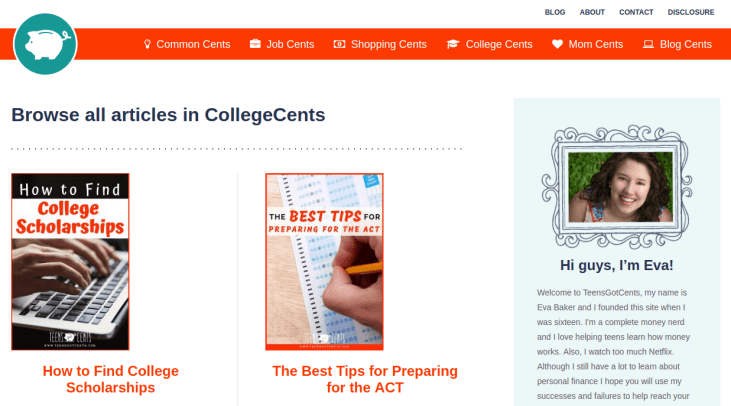 Blogs For College Students - TeensGotCents