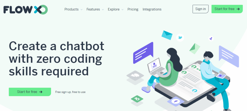 flowxo-messenger-bot-tool