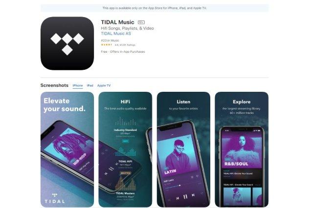 Tidal Music, Aplikasi Musik Iphone Gratis Yang Bisa Kamu Coba