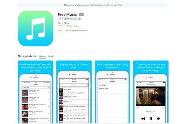 Free Music Iphone App