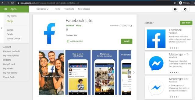 Download Video Di FB Lite Apakah Bisa? Kalau Bisa Caranya Gimana?