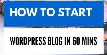 setup wordpress blog on Bluehost BLOGGERPUNIT.COM