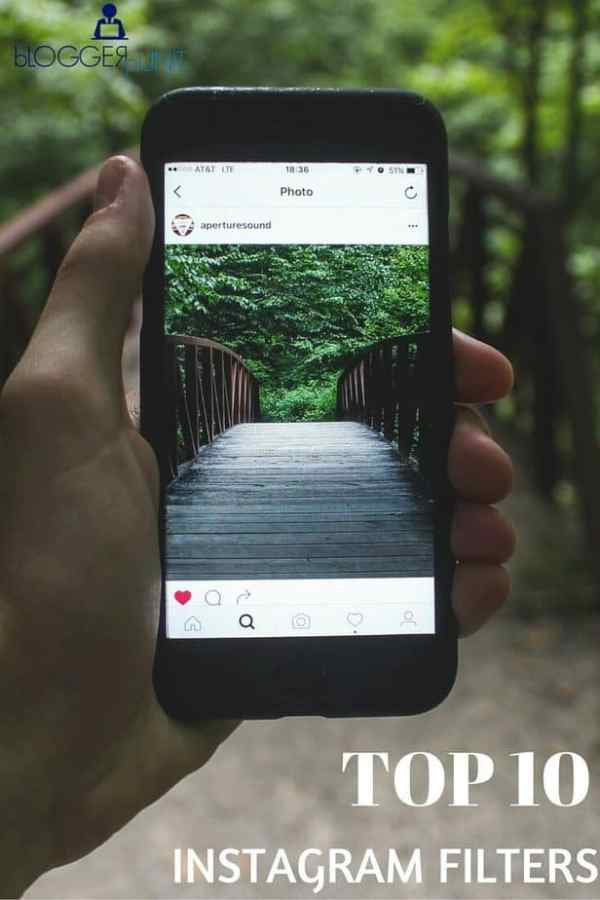 Top 10 Instagram Filters Around the World - BloggerPunit