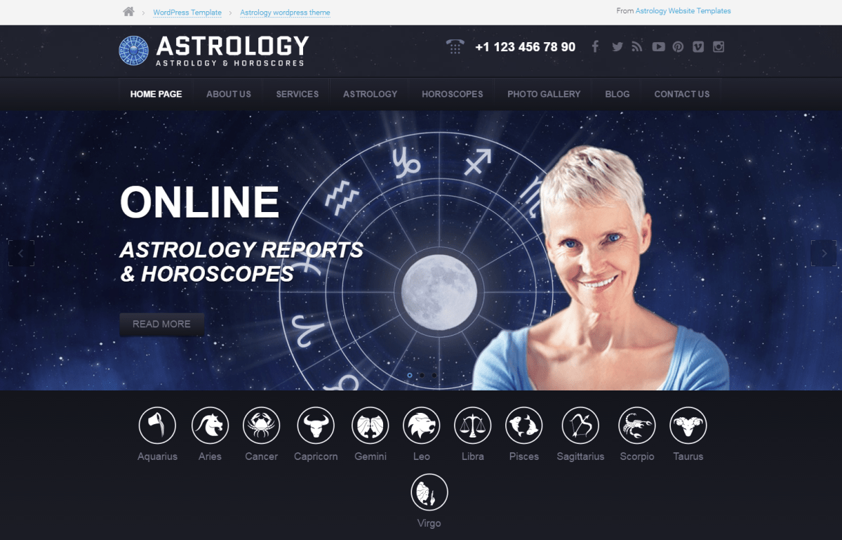Best Astrology, Horoscope WordPress Themes