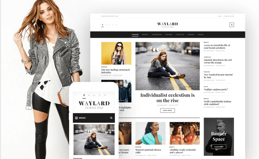Fashion and Style WordPress Theme