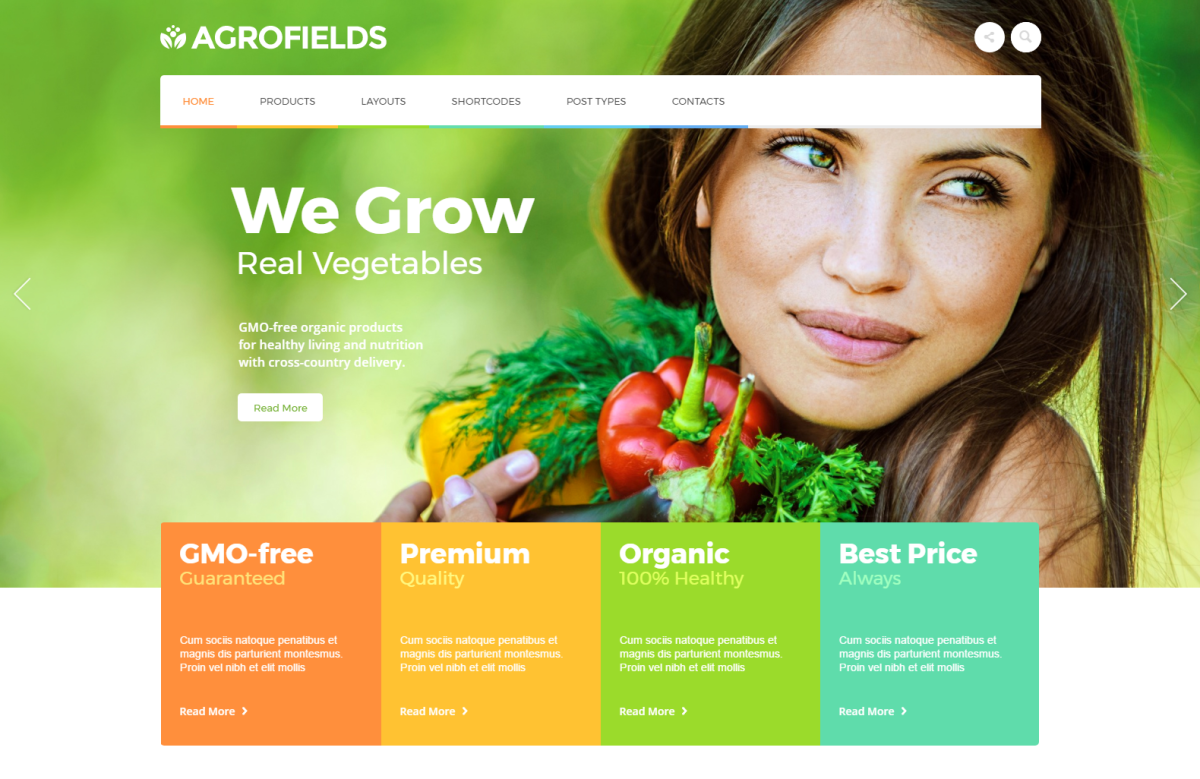 Top 10 Grocery Store WordPress Themes
