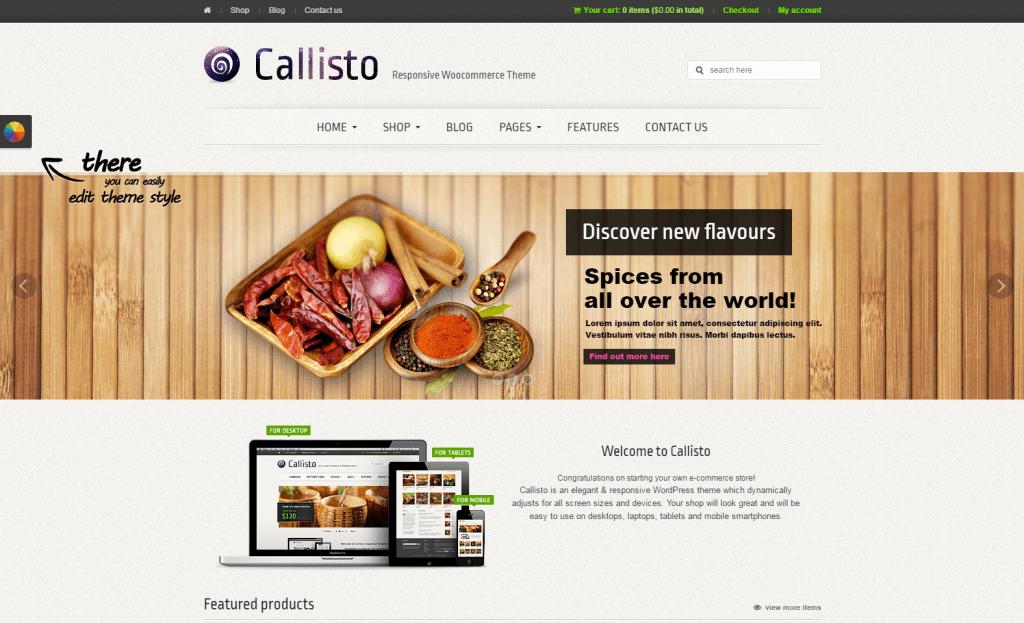 Callisto - WooCommerce Premium Responsive Theme