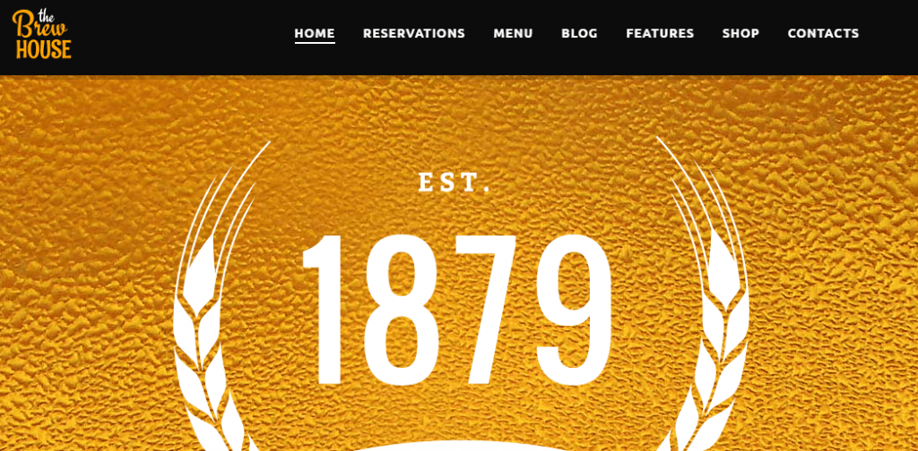 Brew House WP Theme