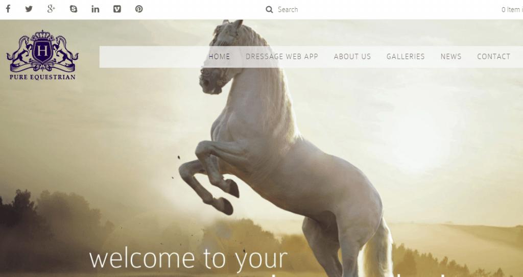 Stable Yard WordPress Theme