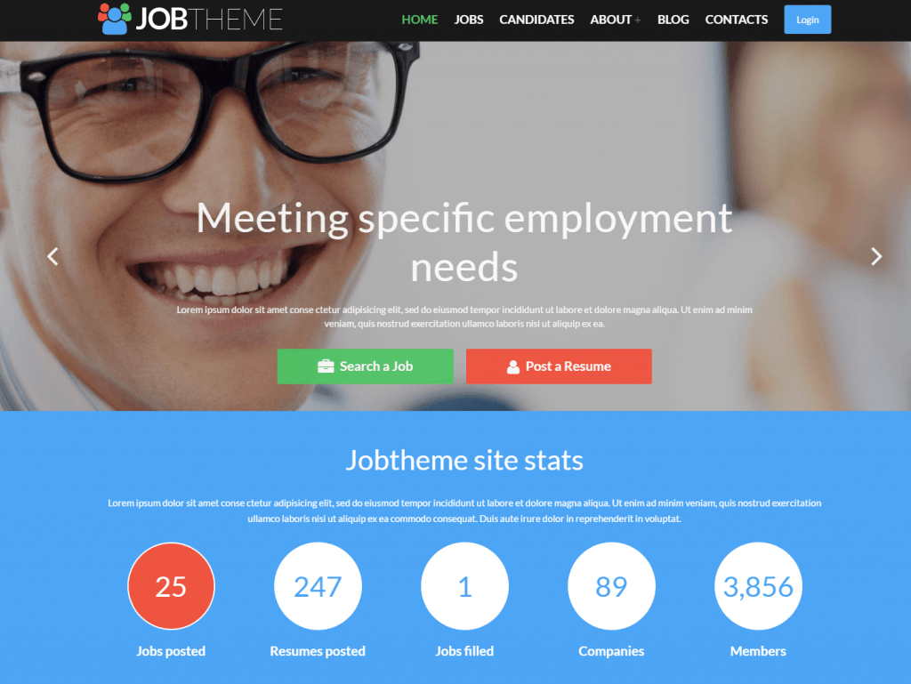 JobTheme Responsive WordPress Theme
