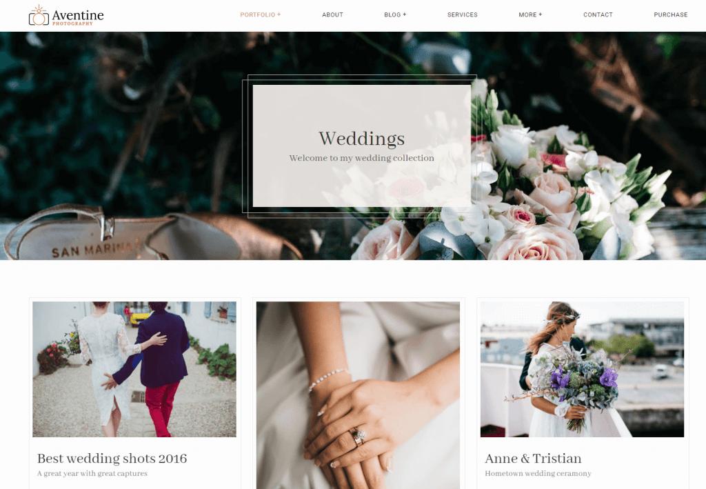 Best Wedding Photography Business Wordpress Themes Templates