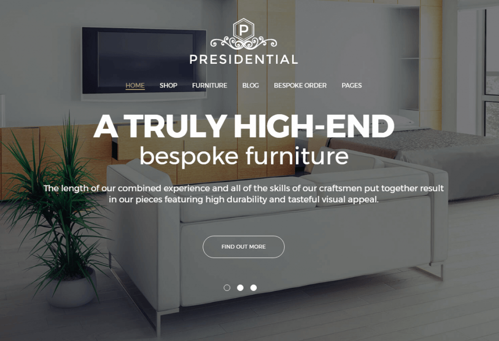 Home Decor WordPress Themes