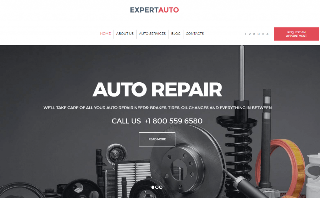Car Mechanic WordPress Theme