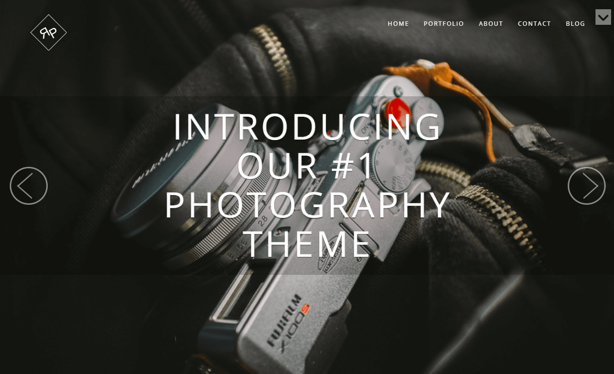 Stunning Photography WordPress Theme