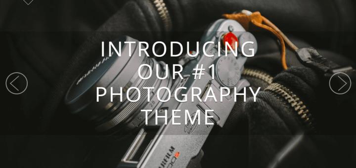 Stunning Photography WordPress Theme