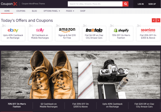 Deals & Coupon WordPress Theme