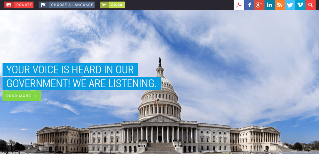 Parlament WordPress theme