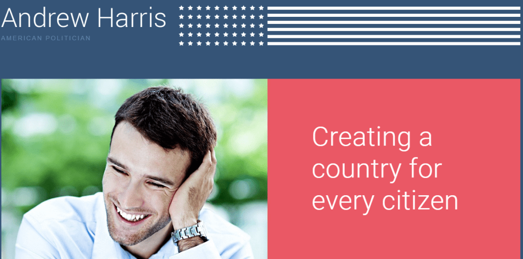American Politics WP theme