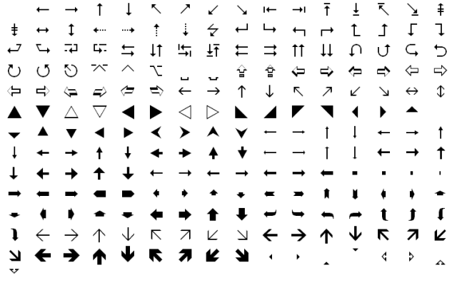 Wingdings text in excel wingdings in social media