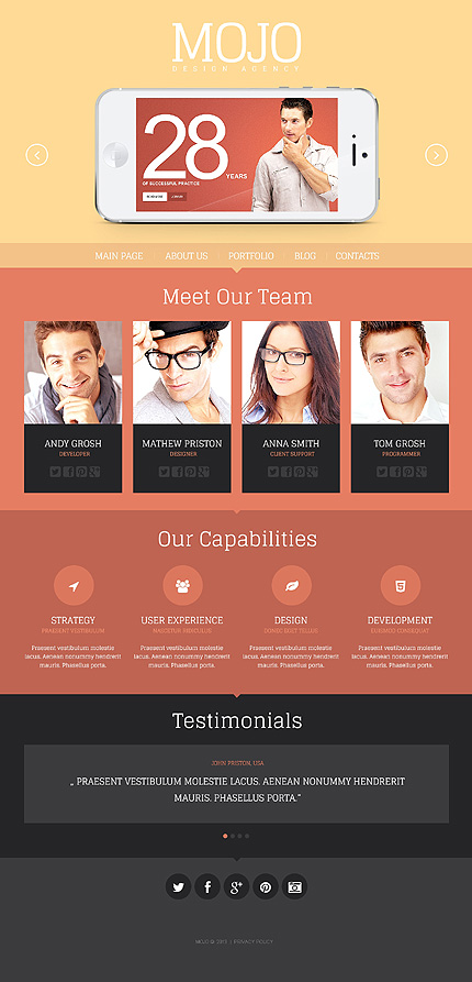 Design Agency WordPress Theme