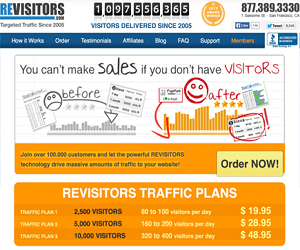revisitors traffic plans