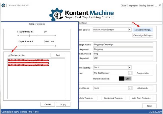 Kontent Machine 3 Review Proxies add
