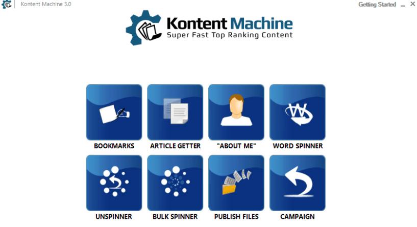 kontent machine other tools