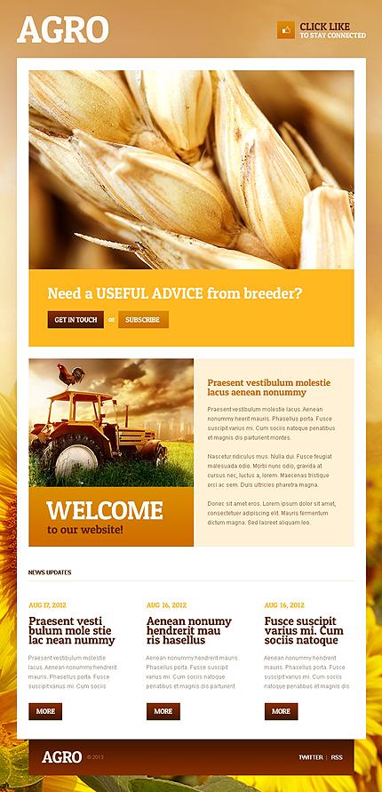 Agriculture Facebook Template (2)