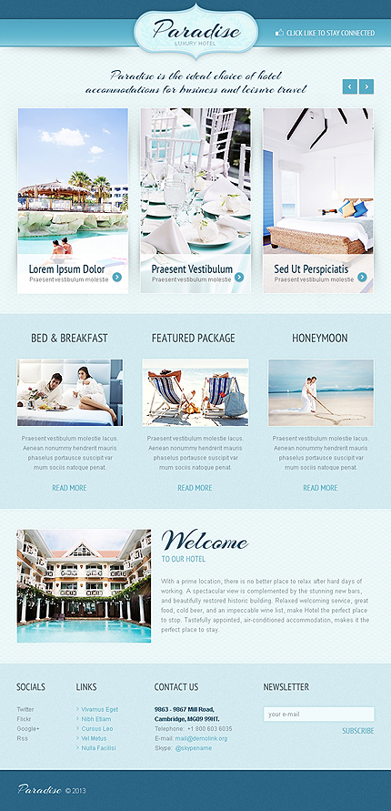 Hotels Facebook Template (4)
