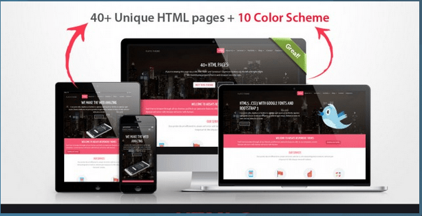 Flato Business Theme HTML Bootstrap Template BootstrapBay