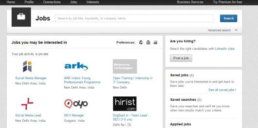 Jobs Home LinkedIn