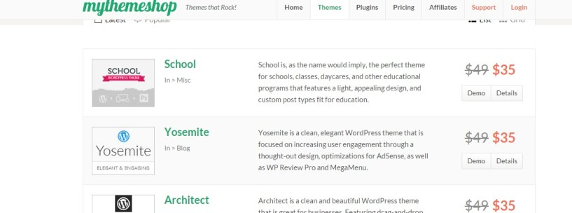 MyThemeShop Black Friday Deals 2014 Get all themes at 9$