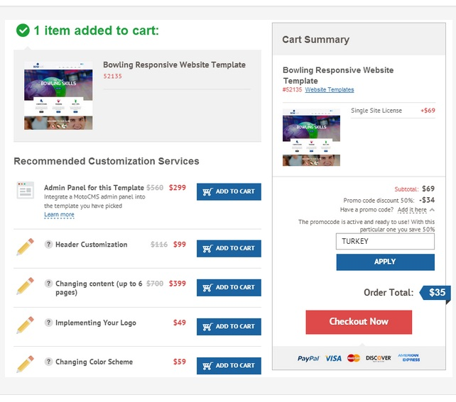 Shopping Mania from TemplateMonster 2014
