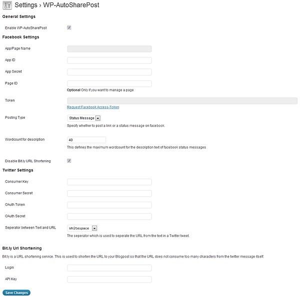 WP-AutoSharePost Plugin