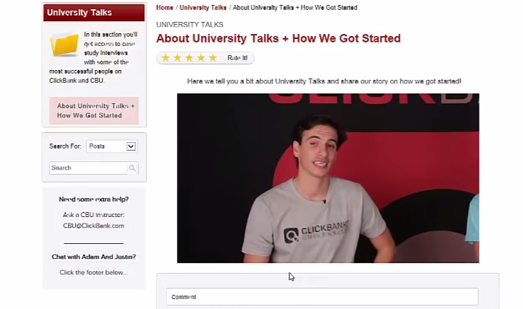 clickbank university review member areas 2