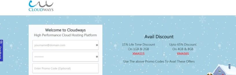 Cloudways.com christmas Sale