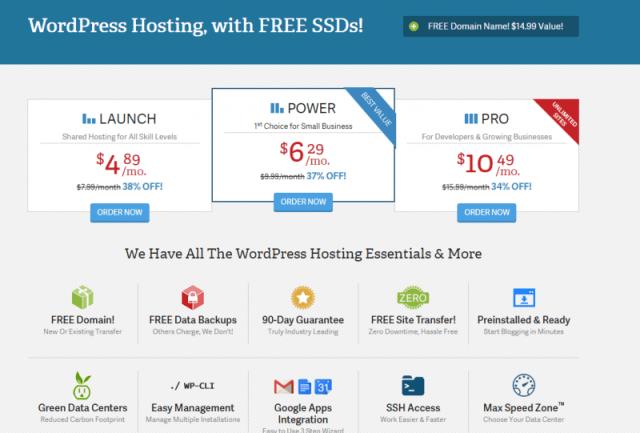 InMotion Hosting WordPress Hosting - inmotion hosting vs godaddy
