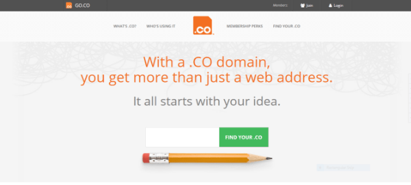 go.co - expired domain name website